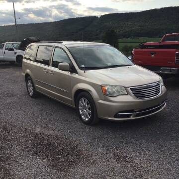 2013 Chrysler Town and Country for sale at Troys Auto Sales in Dornsife PA
