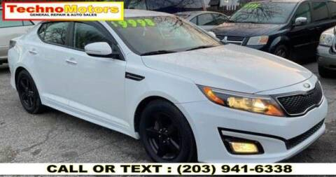 2015 Kia Optima for sale at Techno Motors in Danbury CT