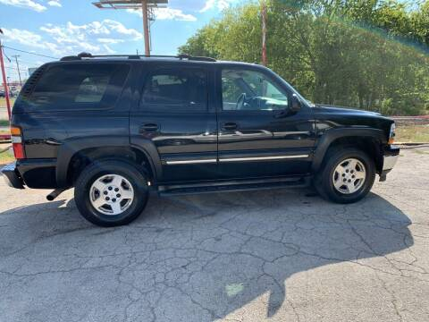 2005 Chevrolet Tahoe for sale at BULLSEYE MOTORS INC in New Braunfels TX