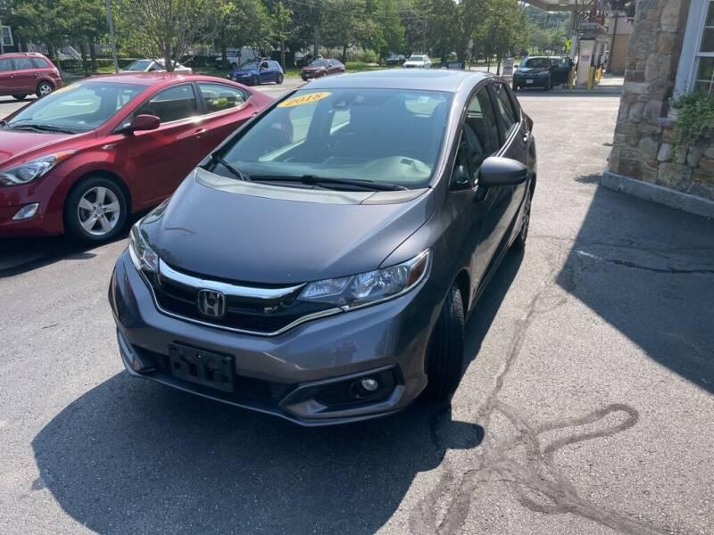 2018 Honda Fit for sale at Regans Automotive Inc in Auburndale MA
