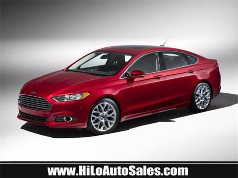 2013 Ford Fusion for sale at Hi-Lo Auto Sales in Frederick MD