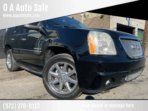 2007 GMC Yukon for sale at O A Auto Sale in Paterson NJ