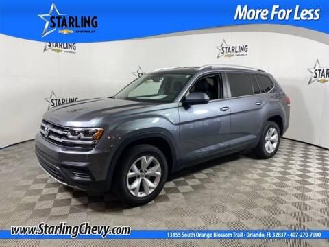 2018 Volkswagen Atlas for sale at Pedro @ Starling Chevrolet in Orlando FL