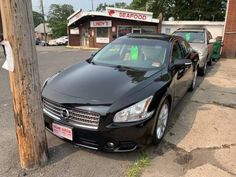 2010 Nissan Maxima for sale at Frank's Garage in Linden NJ