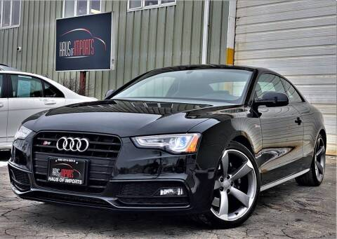 2015 Audi S5 for sale at Haus of Imports in Lemont IL