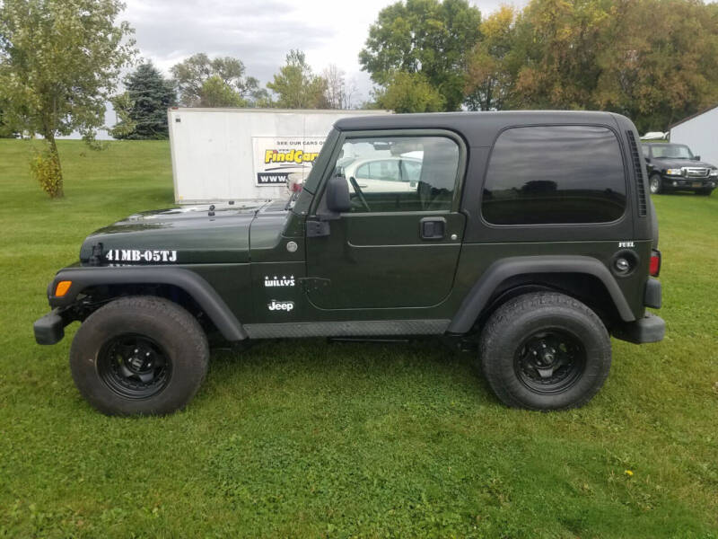 2005 Jeep Wrangler for sale at ROB'S AUTO SALES in Ridgeway IA