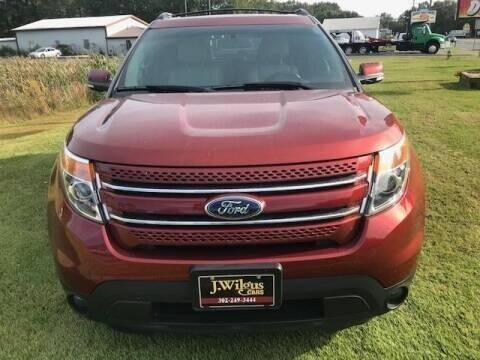 2014 Ford Explorer for sale at J Wilgus Cars in Selbyville DE
