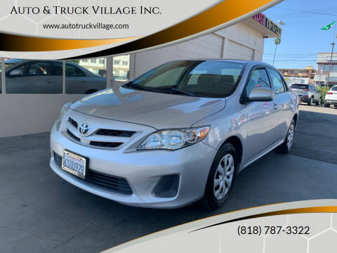 2011 Toyota Corolla for sale at Auto & Truck Village Inc. in Van Nuys CA
