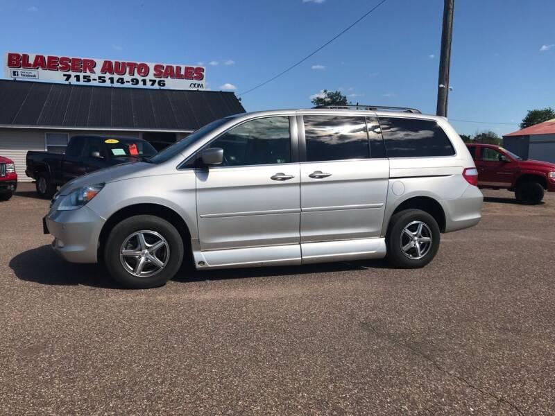 2007 Honda Odyssey for sale at BLAESER AUTO LLC in Chippewa Falls WI