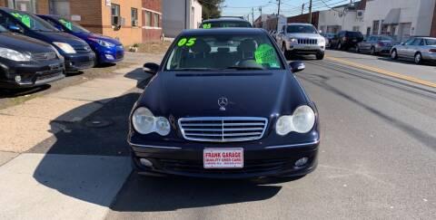 2005 Mercedes-Benz C-Class for sale at Frank's Garage in Linden NJ