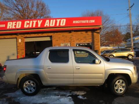 2008 Honda Ridgeline for sale at Red City  Auto in Omaha NE