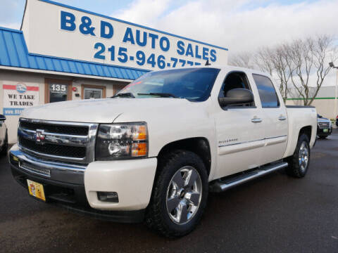 2011 Chevrolet Silverado 1500 for sale at B & D Auto Sales Inc. in Fairless Hills PA