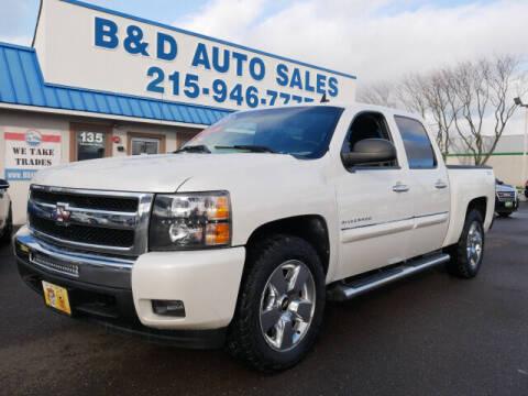 2011 Chevrolet Silverado 1500 for sale at B & D Auto Sales Inc. in Fairless Hills PA