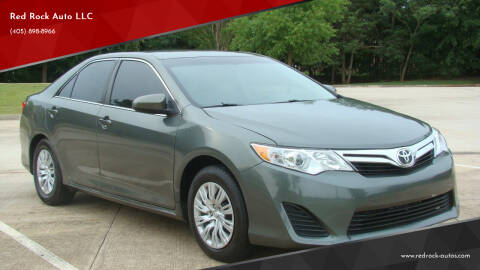 2014 Toyota Camry for sale at Red Rock Auto LLC in Oklahoma City OK