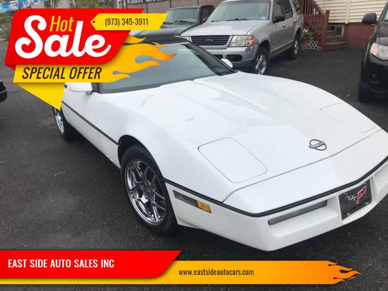 1989 Chevrolet Corvette for sale at EAST SIDE AUTO SALES INC in Paterson NJ