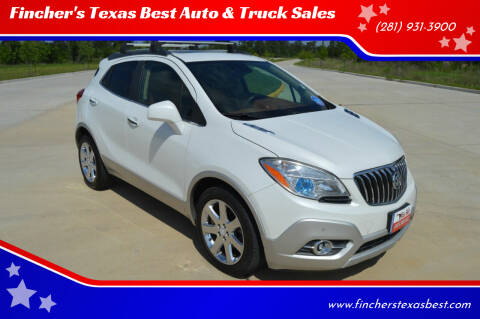 2013 Buick Encore for sale at Fincher's Texas Best Auto & Truck Sales in Tomball TX
