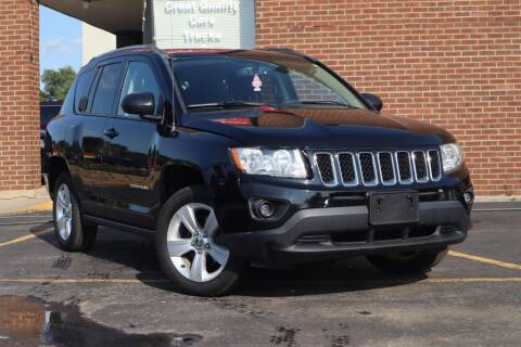2013 Jeep Compass for sale at Hobart Auto Sales in Hobart IN