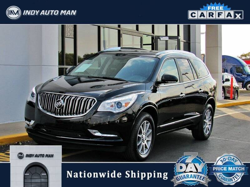 2017 Buick Enclave for sale at INDY AUTO MAN in Indianapolis IN