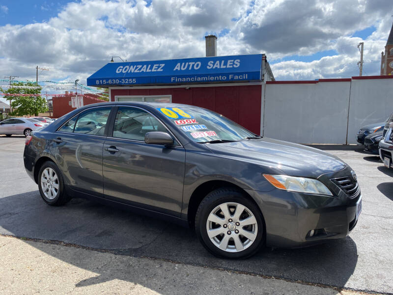 2008 Toyota Camry for sale at Gonzalez Auto Sales in Joliet IL