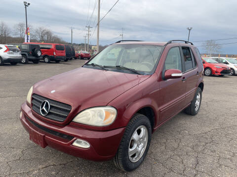 2003 Mercedes-Benz M-Class for sale at Carmans Used Cars & Trucks in Jackson OH