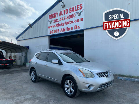 2011 Nissan Rogue for sale at Ricky Auto Sales in Houston TX