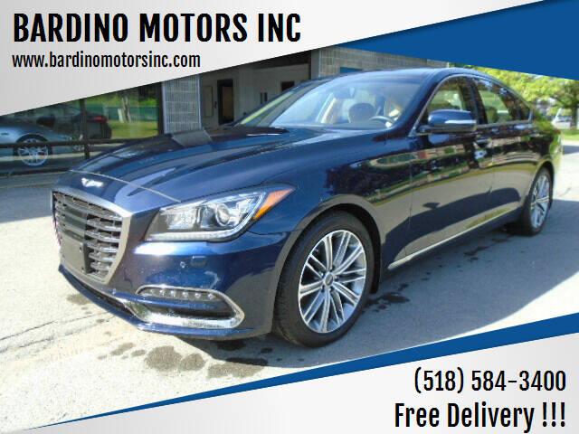 2018 Genesis G80 for sale at BARDINO MOTORS INC in Saratoga Springs NY