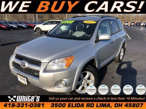 2012 Toyota RAV4 for sale at White's Honda Toyota of Lima in Lima OH