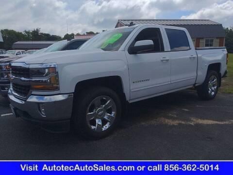 2018 Chevrolet Silverado 1500 for sale at Autotec Auto Sales in Vineland NJ