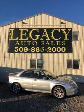 2004 Subaru Impreza for sale at Legacy Auto Sales in Toppenish WA