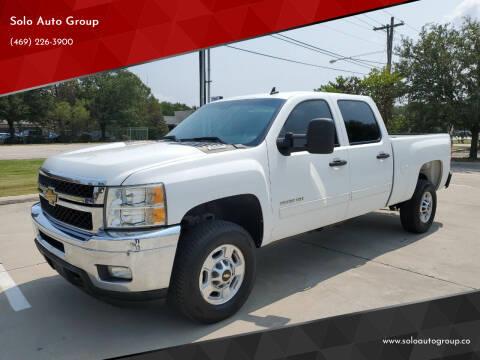 2012 Chevrolet Silverado 2500HD for sale at Solo Auto Group in Mckinney TX