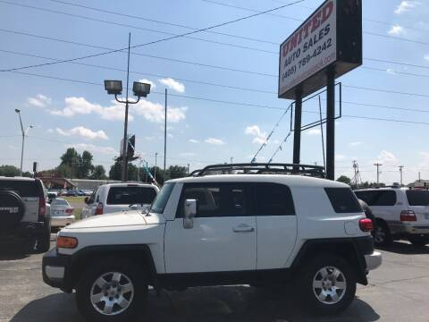 2010 Toyota FJ Cruiser for sale at United Auto Sales in Oklahoma City OK