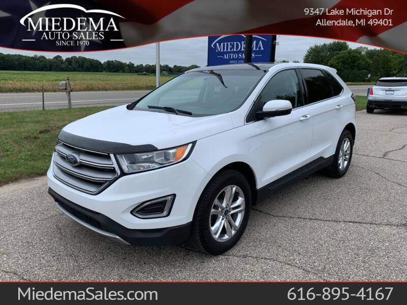 2016 Ford Edge for sale at Miedema Auto Sales in Allendale MI