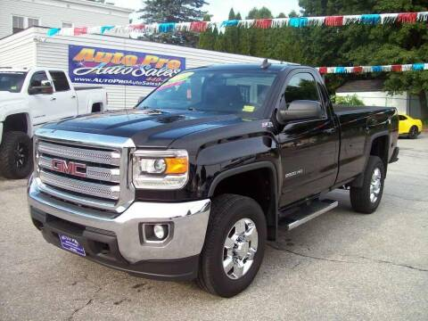 2016 GMC Sierra 2500HD for sale at Auto Pro Auto Sales in Lewiston ME