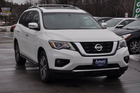 2017 Nissan Pathfinder for sale at Amati Auto Group in Hooksett NH