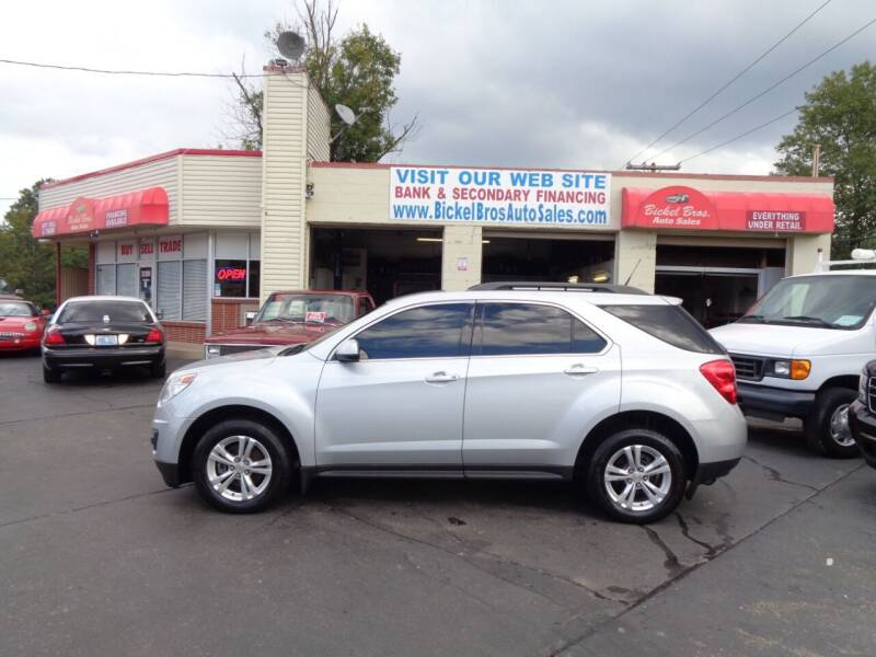 2012 Chevrolet Equinox for sale at Bickel Bros Auto Sales, Inc in Louisville KY