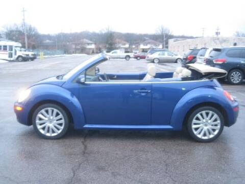 2008 Volkswagen New Beetle Convertible for sale at ELITE AUTOMOTIVE in Euclid OH