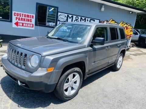 2012 Jeep Patriot for sale at M&M's Auto Sales & Detail in Kansas City KS