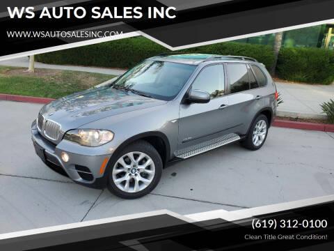 2011 BMW X5 for sale at WS AUTO SALES INC in El Cajon CA