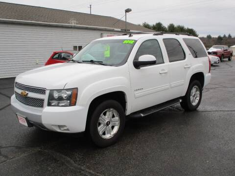 2012 Chevrolet Tahoe for sale at Plainfield Auto Sales, LLC in Plainfield WI