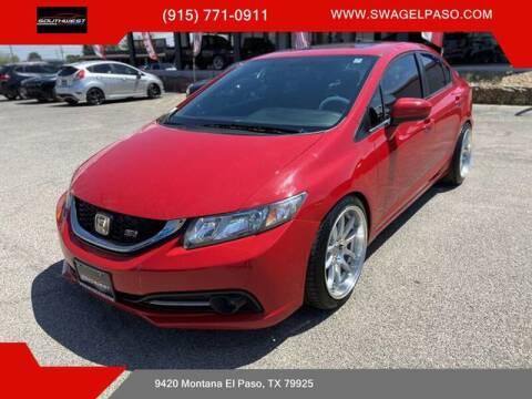 2014 Honda Civic for sale at SOUTHWEST AUTO GROUP-EL PASO in El Paso TX