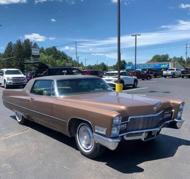 1968 Cadillac DeVille for sale at Milford Automall Sales and Service in Bellingham MA