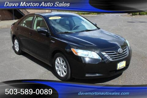 2009 Toyota Camry Hybrid for sale at Dave Morton Auto Sales in Salem OR