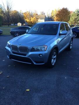 2011 BMW X3 for sale at R & R Motors in Queensbury NY