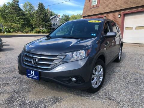2012 Honda CR-V for sale at Hornes Auto Sales LLC in Epping NH