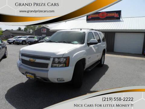 2011 Chevrolet Tahoe for sale at Grand Prize Cars in Cedar Lake IN