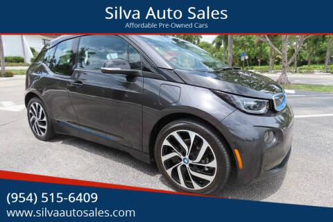 2015 BMW i3 for sale at Silva Auto Sales in Pompano Beach FL