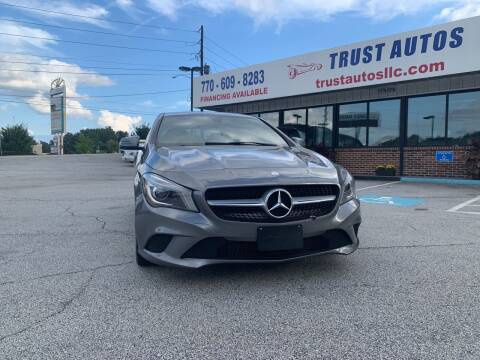 2015 Mercedes-Benz CLA for sale at Trust Autos, LLC in Decatur GA