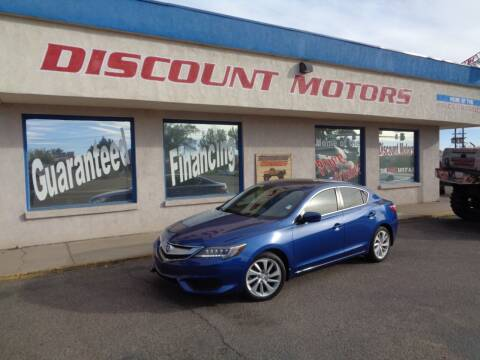 2017 Acura ILX for sale at Discount Motors in Pueblo CO