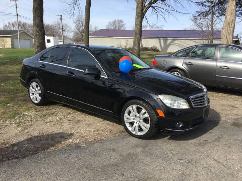 2010 Mercedes-Benz C-Class for sale at Antique Motors in Plymouth IN