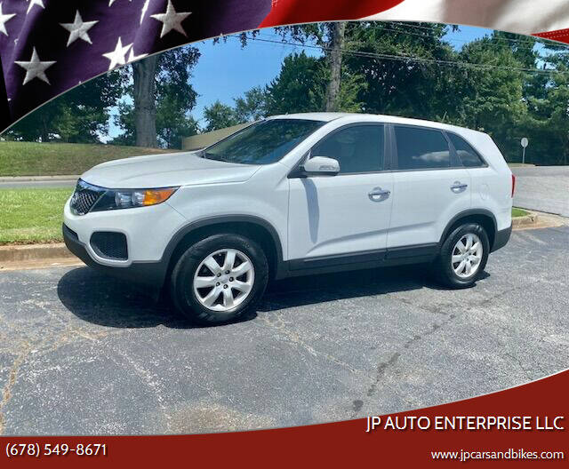 2012 Kia Sorento for sale at JP Auto Enterprise LLC in Duluth GA